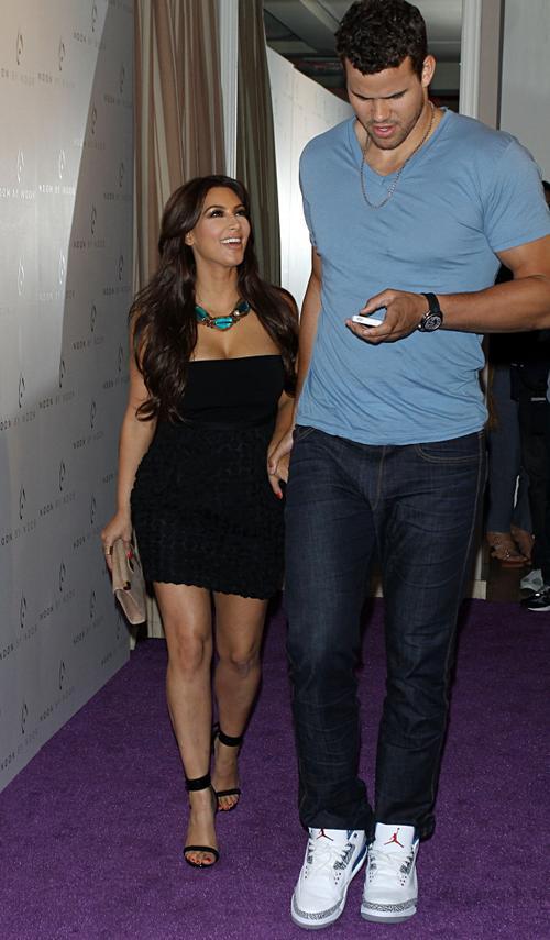 Ким Кардашьян со своим женихом Крисом Хамфрисом