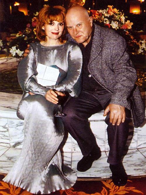 Клара Новикова с мужем Юрием