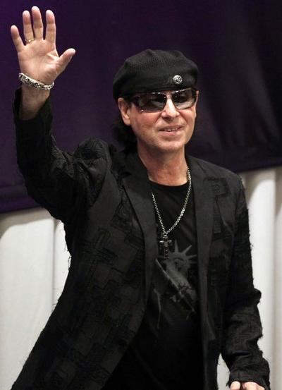 Лидер группы Scorpions Клаус Майне