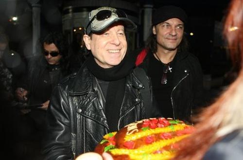 Группа Scorpions в Киеве