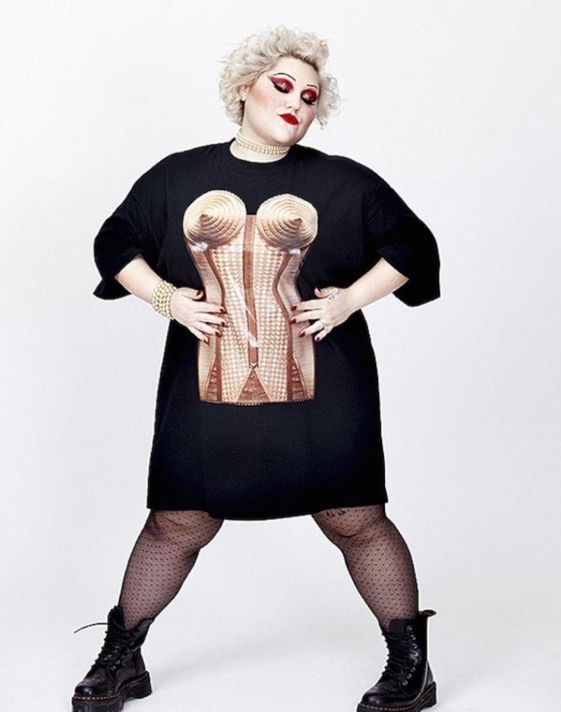 Жан-Поль Готье создал одежду для толстушек