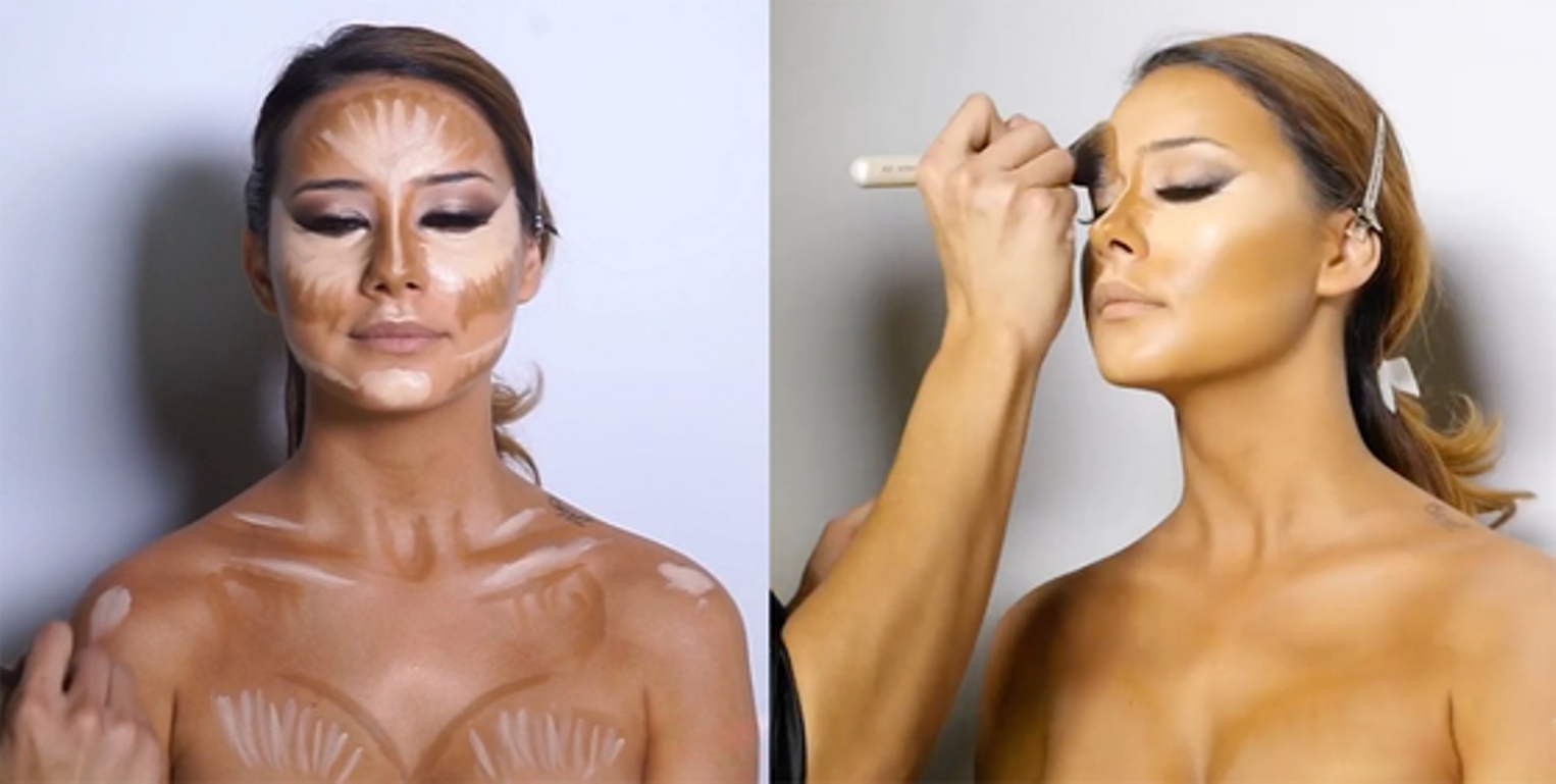 Как сделать макияж пресса