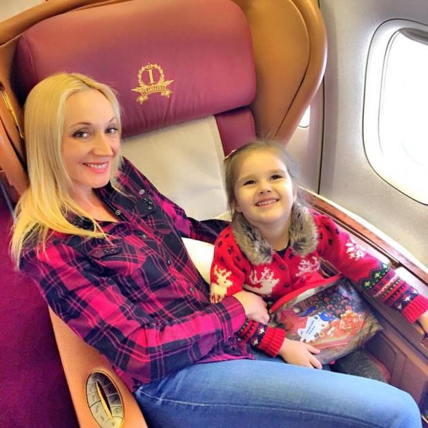 Кристина Орбакайте и дочь