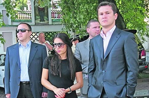 Кристина Черновцкая и Вячеслав Супруненко