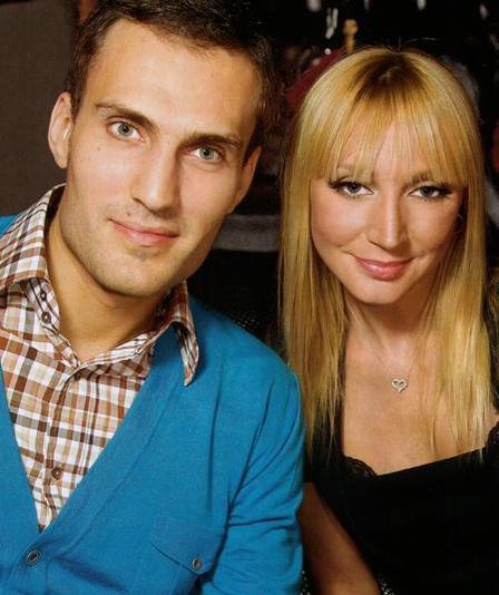 Кристина Орбакайте с мужем Михаилом Земским