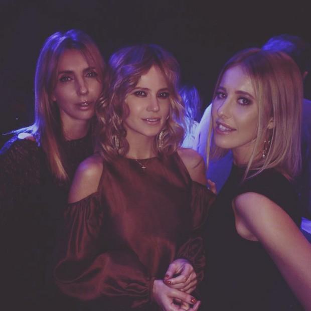 Ксения Собчак с подругами