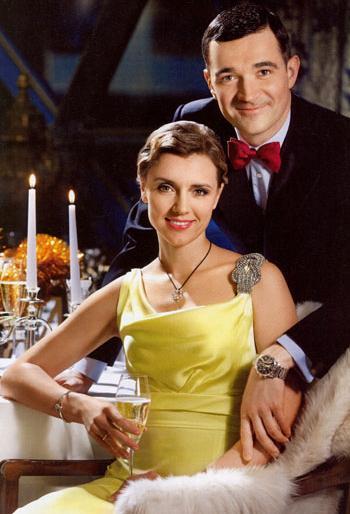 Ксения Алферова с мужем - актером Егором Бероевым