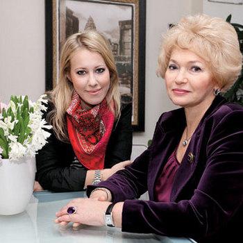 Ксения Собчак и Людмила Нерусова