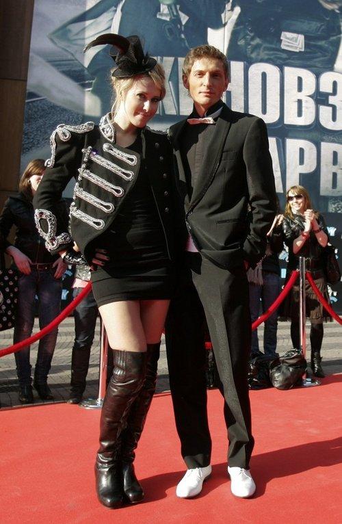 Павел Воля и Ксения Собчак