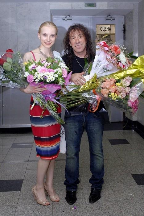 Кузьмин с женой