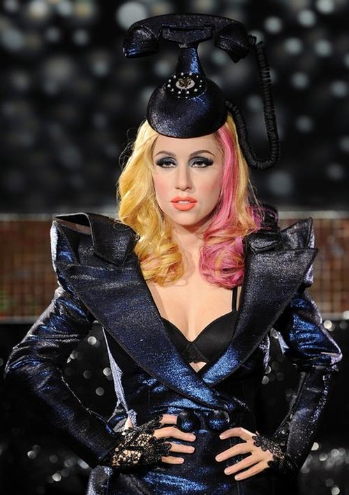 Восковая фигура Леди Гага в Лондоне