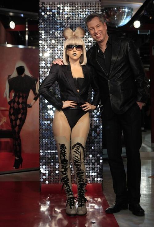 Восковая фигура Леди Гага в Берлине