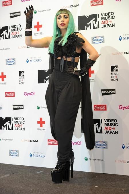 Леди Гага в Японии