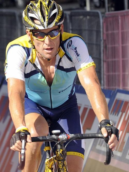 Лэнсу Армстронгу досталось третье место