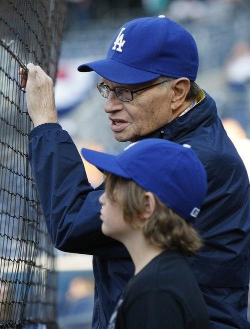 Ларии Кинг со своим десятилетним сыном Ченсом