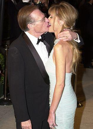 Ларри Кинг с женой