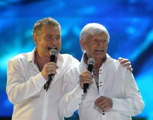 Леонида Агутин с отцом