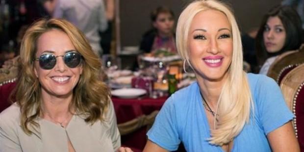 Лера Кудрявцева и Жанна Фриске