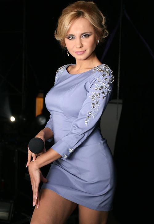 Ведущая шоу «Танцюють всі!» Лилия Ребрик