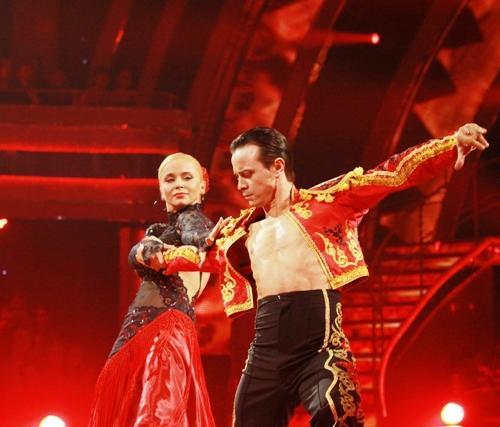 Лилия Ребрик и Андрей Дикий заняли второе место в проекте «Танцы со звездами»