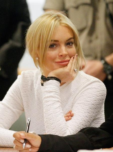 индси Лохан / Lindsay Lohan на заседании суда