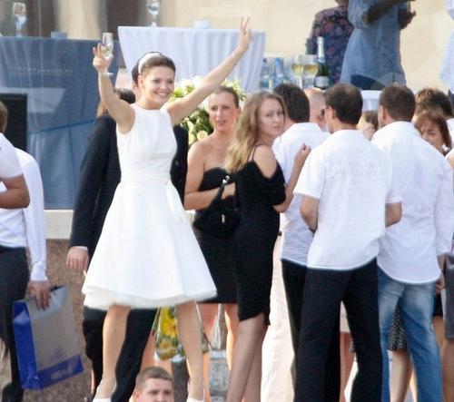 Лиза Боярская - свадебное фото