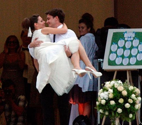 Лиза Боярская и Максим Матвеев - свадебное фото