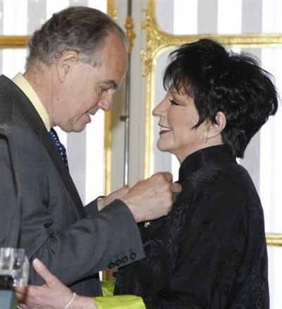 Фредерик Миттеран / Frederic Mitterrand и Лайза Минелли / Liza Minnelli