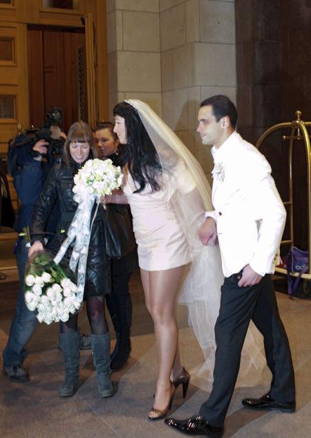 Лолита Милявская и Дмитрий Иванов: свадебное фото