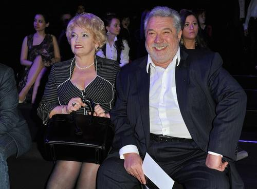 Людмила Нарусова (слева)