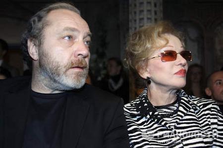 Людмила Гурченко с мужем Сергеем Сениным