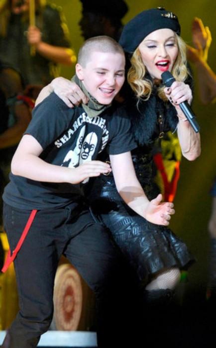 Мадонна и сын Рокко