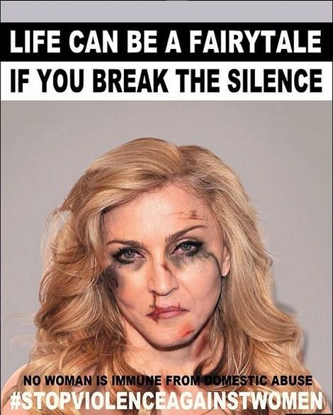Мадонна с побоями
