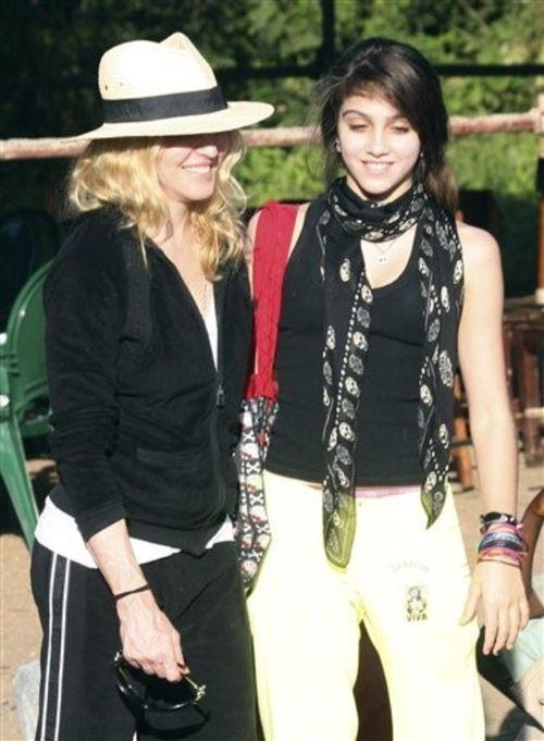 Мадонна с дочерью Лурдес