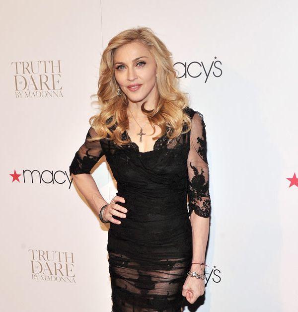 Мадонна представила свой дебютный парфюм Truth or Dare