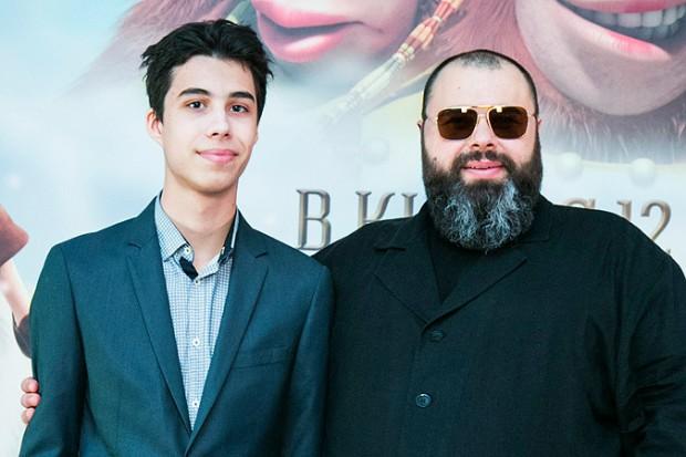 Макс Фадеев с сыном