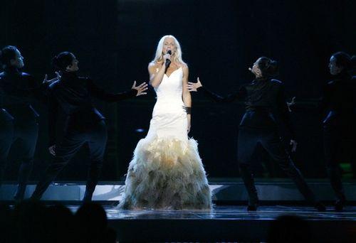 Малена Ернман выступала в платье за 37 тысяч долларов