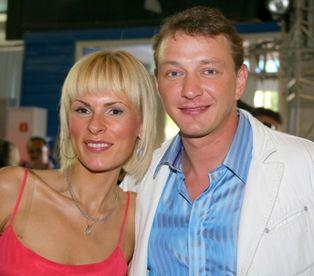 Марат Башаров с гражданской женой Лизой