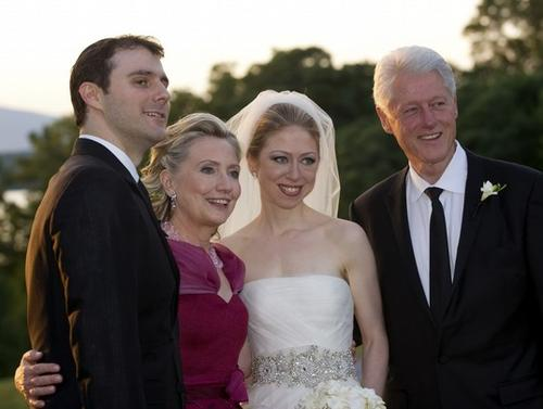 Обновленная семья Клинтонов
