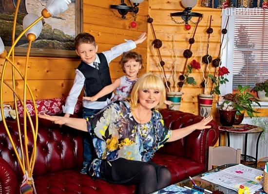рита суханкина и ее дети фото