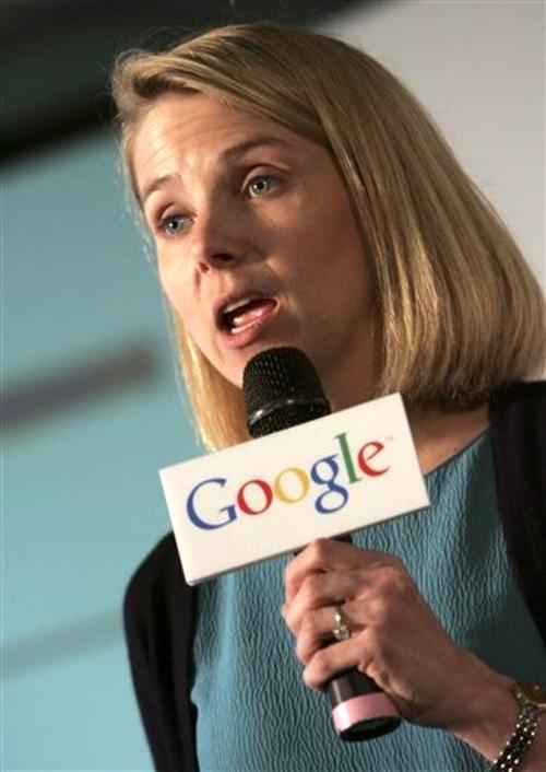 5. Марисса Майер (Marissa Mayer) - вице-президент компании Google