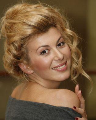 Украинская теледива и светская львица Марыся Горобец