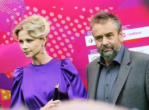 Мария Миронова и Люк Бессон