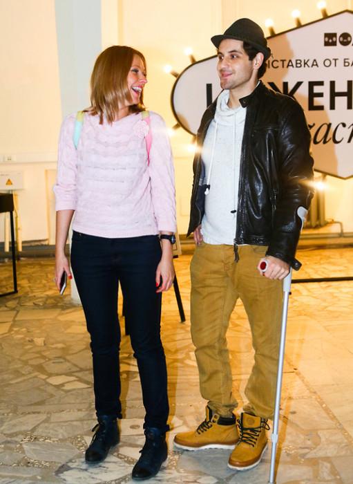 Марк Богатырев с подругой