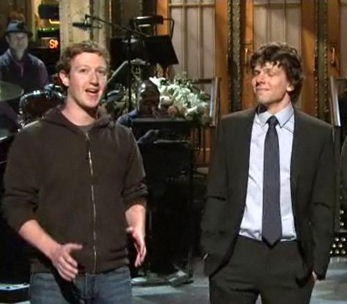 Марк Цукерберг / Mark Zuckerberg и Джесси Айзенберг / Jesse Eisenberg