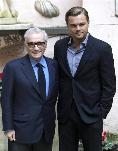 Мартин Скорсезе и Леонардо Ди Каприо