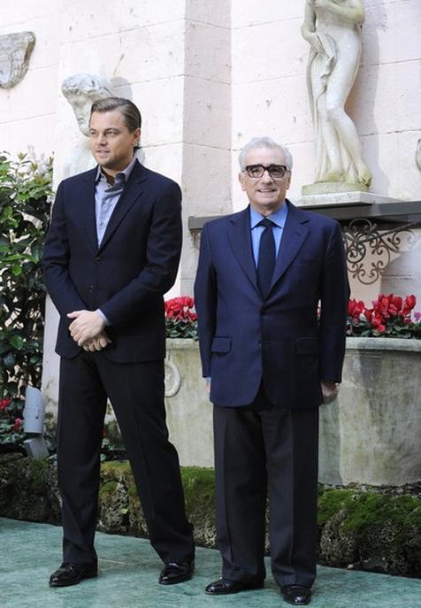 Леонардо Ди Каприо / Leonardo DiCaprio и Мартин Скорсезе / Martin Scorsese