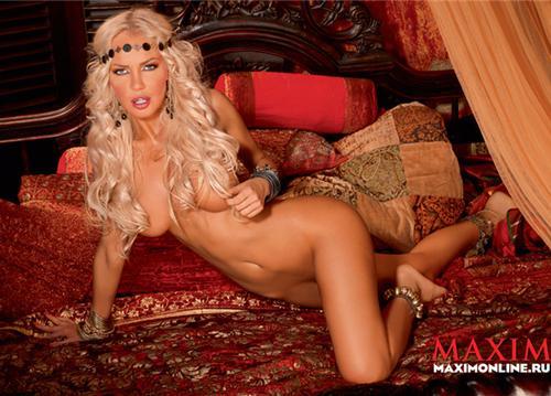 Маша Малиновская В Максим 2009