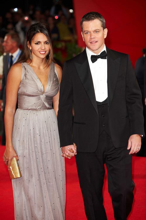 Мэтт Деймон / Matt Damon и Лучиана Баррозо / Luciana Barroso