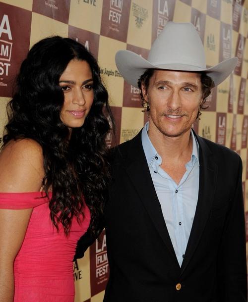 Мэттью МакКонахи (Matthew McConaughey) и Камила Алвес (Camila Alves)